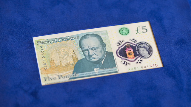 The New Fiver issued today