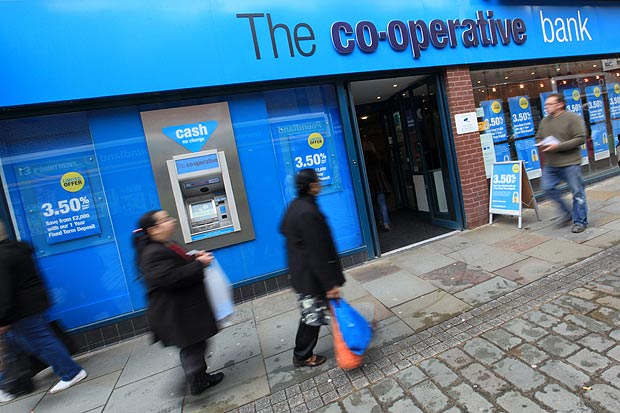 Co-op Bank Puts Itself Up for Sale