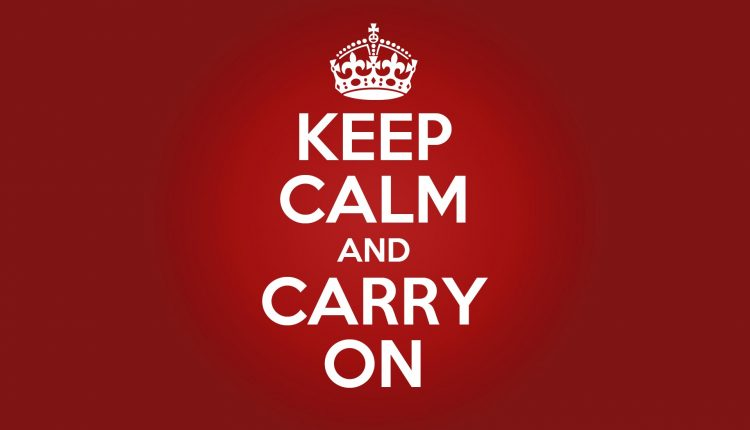 How to 'keep calm and carry on' during an M&A