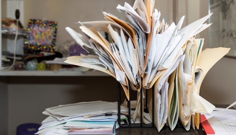 Printing and Keeping Documents Costs SMEs Over £14k Per Year