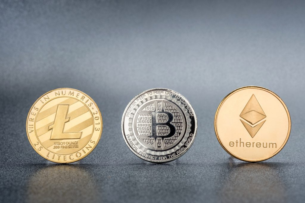 Cryptocurrency in finance term
