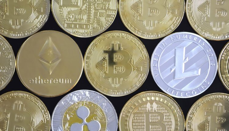Cryptocurrencies managed in credit